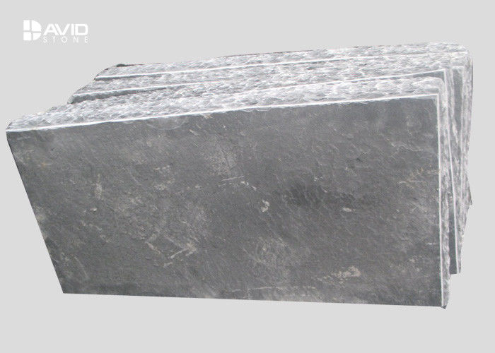 Wear Resistant Granite Paving Stones Straight Lines / Wave Pattern Type